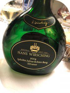 2014 Weingut Hans Wirsching, Iphöfer Julius-Echter-Berg Silvaner Erste Lage, Franken, Tyskland