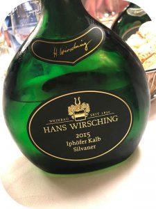 2015 Weingut Hans Wirsching, Iphöfer Kalb Silvaner Erste Lage, Franken, Tyskland