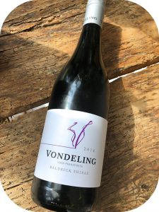 2014 Vondeling Wines, Baldrick Shiraz, Western Cape, Sydafrika