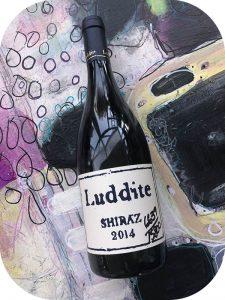2014 Luddite Wines, Shiraz, Western Cape, Sydafrika