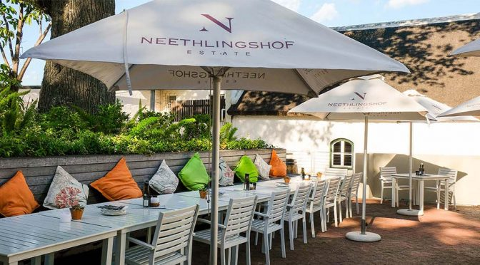 2018 Neethlingshof, Gewürztraminer, Stellenbosch, Sydafrika