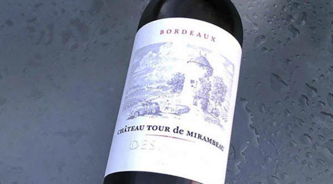 2018 Château Tour de Mirambeau, Tour de Mirambeau Blanc, Bordeaux, Frankrig