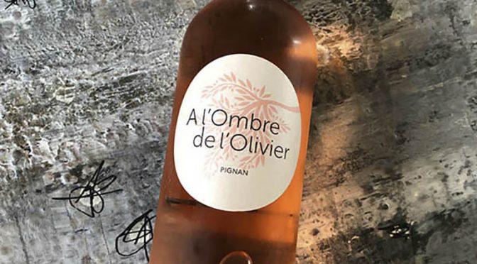 2018 Domaine de Pignan, A l'Ombre de l'Olivier Rosé, Rhône, Frankrig