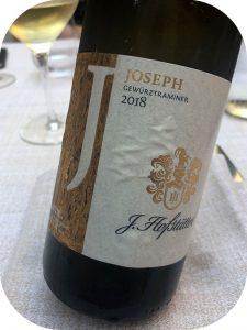 2018 Tenuta J. Hofstätter, Joseph Gewürztraminer, Alto Adige, Italien