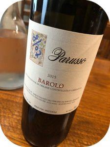2015 Parusso, Barolo, Piemonte, Italien