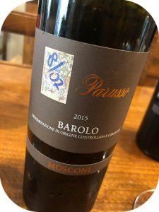 2015 Parusso, Barolo Mosconi, Piemonte, Italien