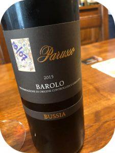 2015 Parusso, Barolo Bussia, Piemonte, Italien