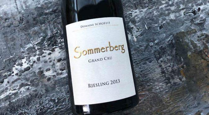 2013 Domaine Schoffit, Riesling Grand Cru Sommerberg, Alsace, Frankrig