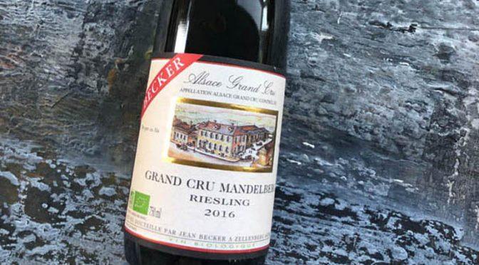 2016 Jean Becker, Riesling Grand Cru Mandelberg, Alsace, Frankrig