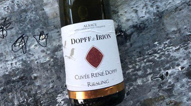 2017 Dopff & Irion, Riesling Cuvée René Dopff, Alsace, Frankrig