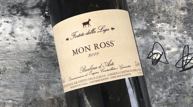 2018 Forteto della Luja, Mon Ross Barbera d'Asti, Piemonte, Italien