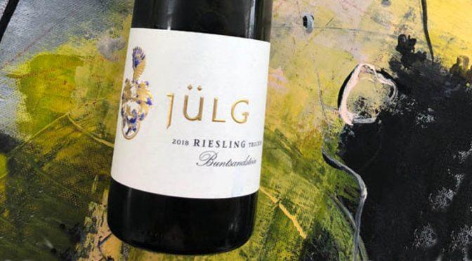 2018 Weingut Jülg, Riesling Buntsandstein, Pfalz, Tyskland