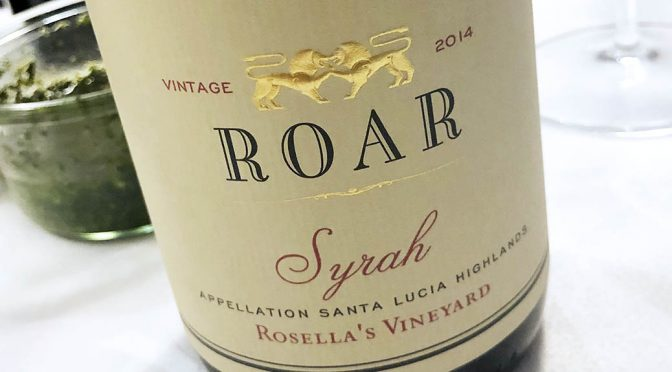 2014 Roar Wines, Rosella's Vineyard Syrah, Californien, USA