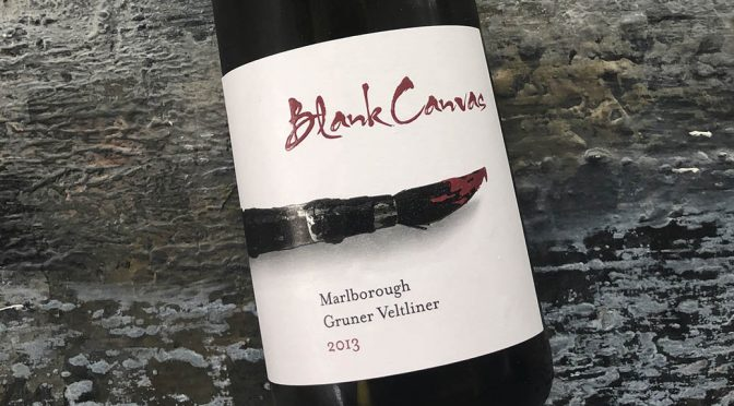 2013 Blank Canvas, Grüner Veltliner, Marlborough, New Zealand
