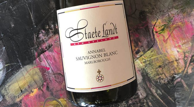 2018 Staete Landt, Annabel Sauvignon Blanc, Marlborough, New Zealand