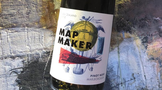 2016 Staete Landt, Map Maker Pinot Noir, Marlborough, New Zealand