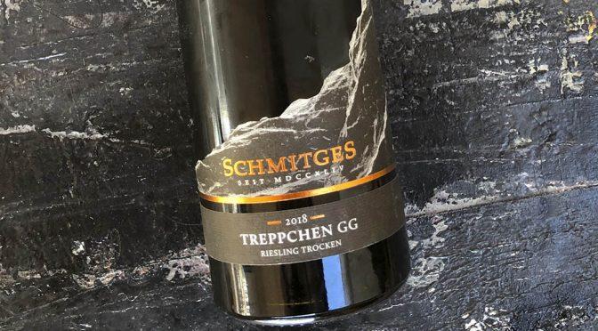 2018 Weingut Schmitges, Erdener Treppchen Riesling GG, Mosel, Tyskland