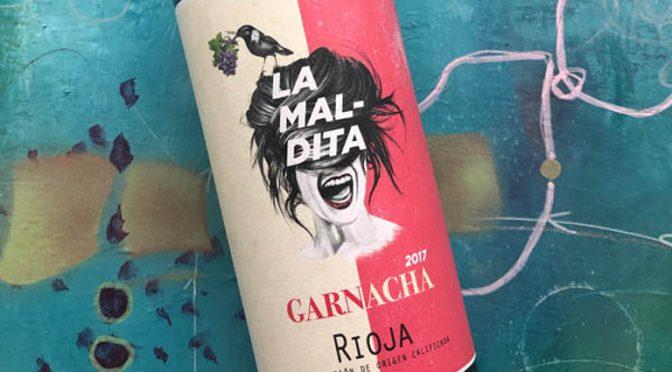 2017 La Maldita, Garnacha, Rioja, Spanien