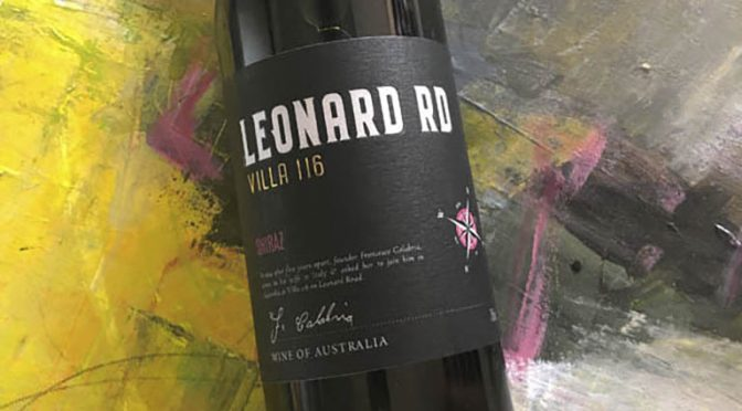 2018 Calabria Family Wines, Leonard Road Villa 116 Shiraz, New South Wales, Australien