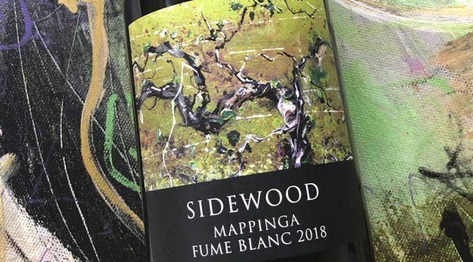 2018 Sidewood Estate, Mappinga Fumé Blanc, Adelaide Hills, Australien