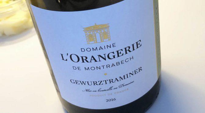 2016 Domaine de l'Orangerie de Montrabech, Gewurztraminer, Languedoc, Frankrig