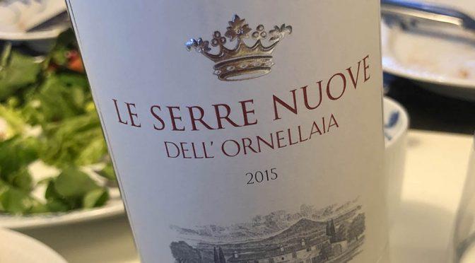 2015 Tenuta dell' Ornellaia, Le Serre Nuove dell' Ornellaia, Toscana, Italien