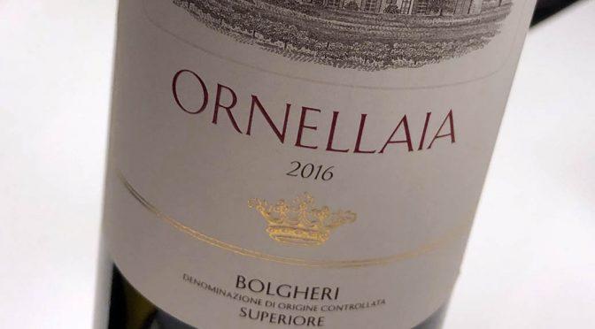 2016 Tenuta dell' Ornellaia, Ornellaia La Tensione Bolgheri Superiore, Toscana, Italien