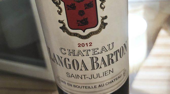 2012 Château Langoa Barton, Saint Julien 3. Grand Cru Classé, Bordeaux, Frankrig