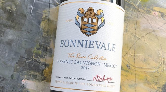 2017 Bonnievale Wines, River Collection Cabernet Sauvignon Merlot, Western Cape, Sydafrika