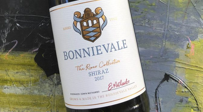 2017 Bonnievale Wines, River Collection Shiraz, Western Cape, Sydafrika