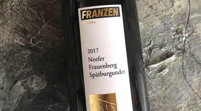 2017 Weingut Franzen, Neefer Frauenberg Spätburgunder, Mosel, Tyskland