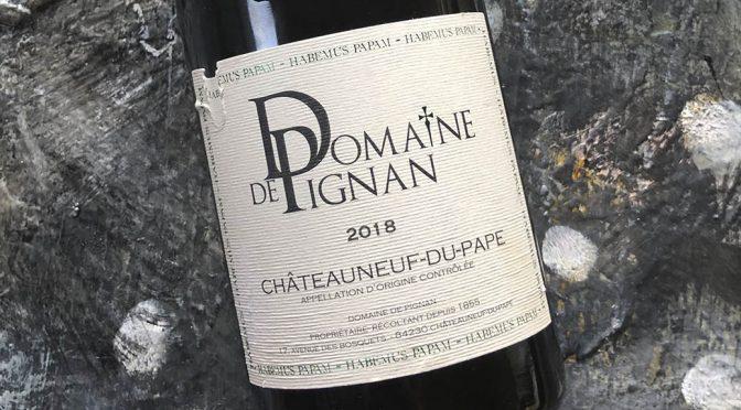 2018 Domaine de Pignan, Châteauneuf-du-Pape Blanc, Rhône, Frankrig