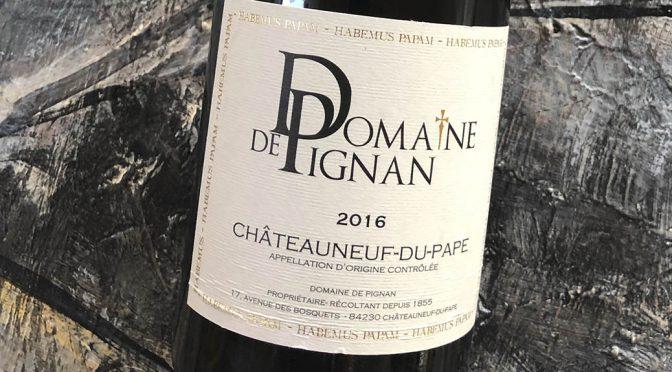 2016 Domaine de Pignan, Châteauneuf-du-Pape Cuvée Traditionelle, Rhône, Frankrig