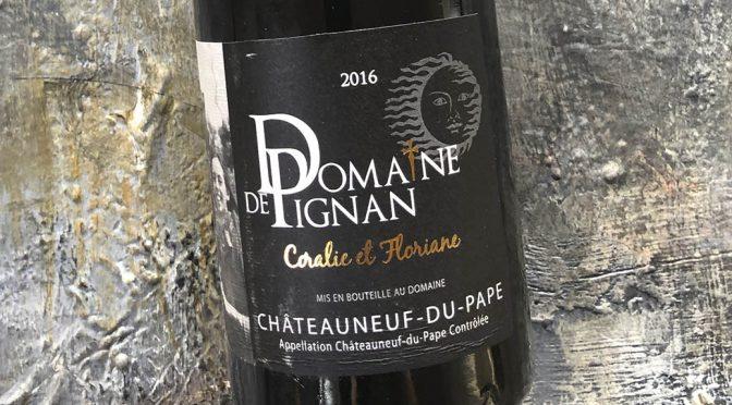 2016 Domaine de Pignan, Châteauneuf-du-Pape Cuvée Speciale Coralie & Floriane, Rhône, Frankrig