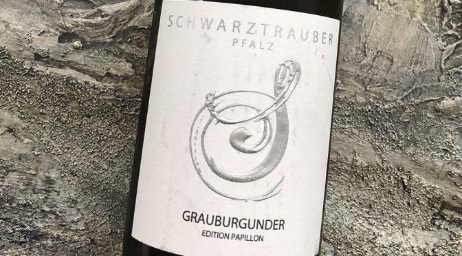 2018 Weingut Schwarztrauber, Grauburgunder Edition Papillon, Pfalz, Tyskland