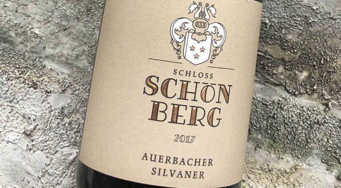 2017 Weingut Schloss Schönberg, Auerbacher Silvaner, Hessiche Bergstrasse, Tyskland