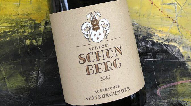 2017 Weingut Schloss Schönberg, Auerbacher Spätburgunder, Hessiche Bergstrasse, Tyskland