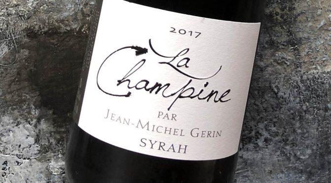 2017 Jean Michel Gerin, La Champine, Rhône, Frankrig