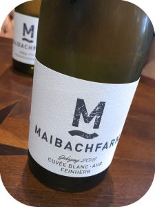2018 Weingut Maibachfarm, Cuvée Blanc Feinherb, Ahr, Tyskland
