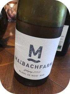 2018 Weingut Maibachfarm, Blanc de Noir, Ahr, Tyskland