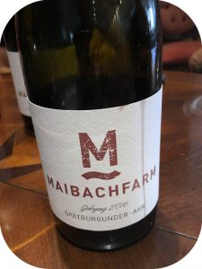 2016 Weingut Maibachfarm, Spätburgunder, Ahr, Tyskland