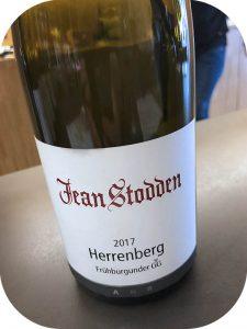 2017 Weingut Jean Stodden, Recher Herrenberg Frühburgunder, Ahr, Tyskland