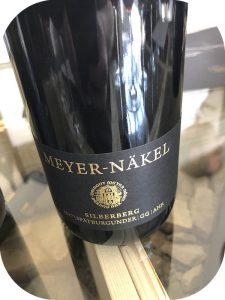 2017 Weingut Meyer-Näkel, Spätburgunder Ahrweiler Silberberg GG, Ahr, Tyskland