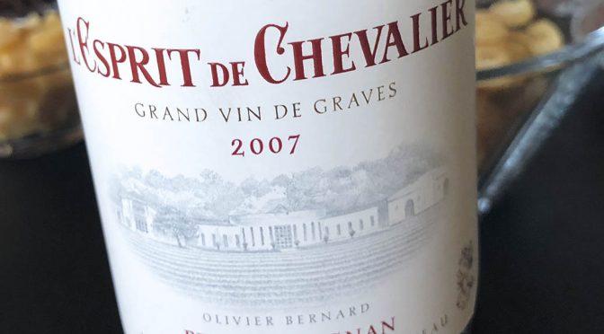 2007 Domaine de Chevalier, L'Esprit de Chevalier Pessac-Léognan, Bordeaux, Frankrig
