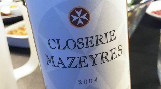 2004 Vignobles Clément Fayat, Closerie Mazeyres Pomerol Grand Vin, Bordeaux, Frankrig