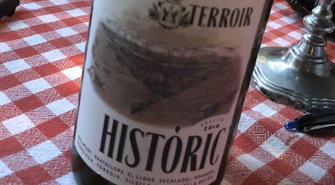 2016 Terroir al Límit, Terroir Històric Blanc, Priorat, Spanien
