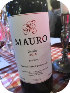 2016 Bodegas Mauro, Mauro, Castilla y León, Spanien