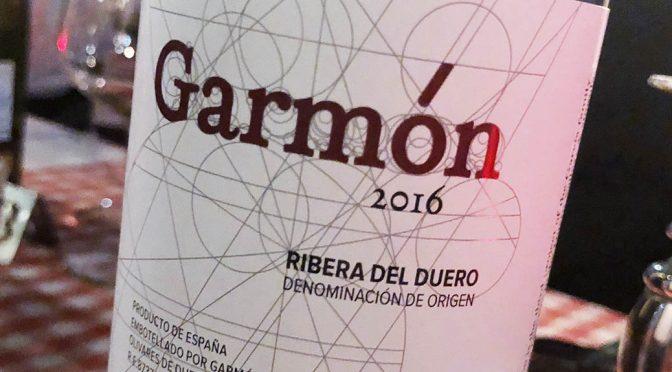 2016 Bodegas Garmón Continental, Garmón, Ribera del Duero, Spanien