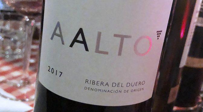 2017 Bodegas Aalto, Aalto, Ribera del Duero, Spanien