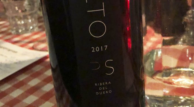 2017 Bodegas Aalto, PS, Ribera del Duero, Spanien